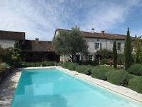 Lovely stone house and his cottage in a village in SOUTH WEST OF FRANCE