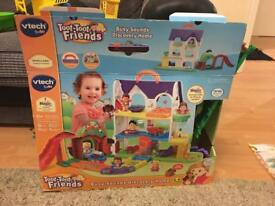 Toot toot friends house