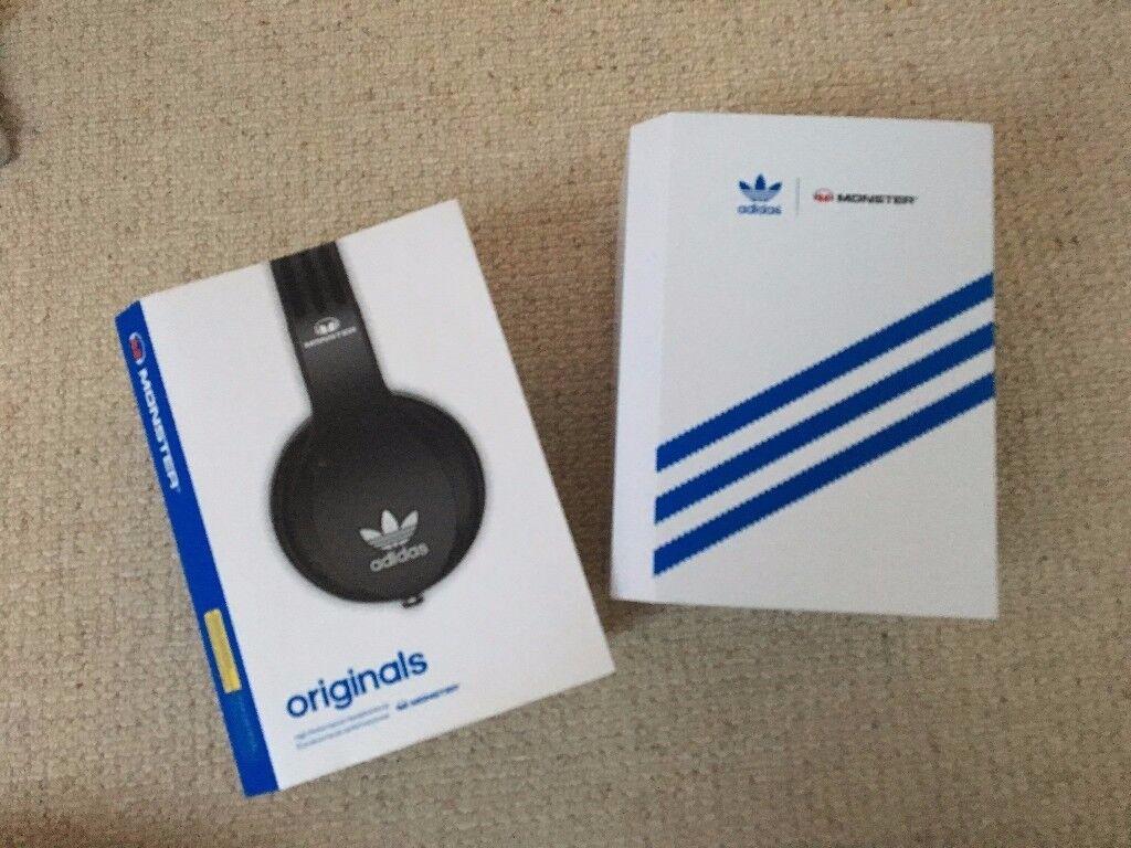NEW Monster adidas Originals Headphones - £40