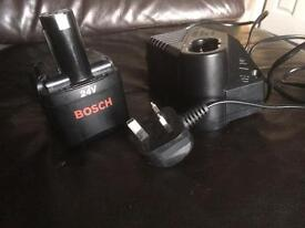 Bosch AL60DV battery and charger