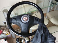 MG Rover ZR ZS Steering Wheel with Airbag