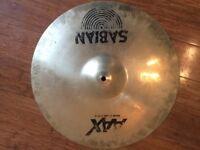 """Wokingham Drum Sales - Sabian AAX 17"""" Dark Crash Cymbal"""