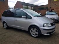 2004 53 Seat Alhambra 1.9 TDI - 7 Seater - 1 Months Warranty