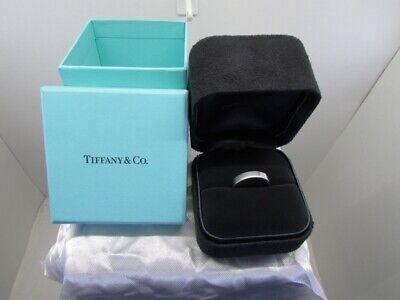 Tiffany&Co Platinum 950 Unisex 4MM Wedding Band Size 7.25