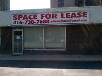 (WINTER SPECIAL - PRICE REDUCED) FOR LEASE RETAIL/OFFICE/STUDIO