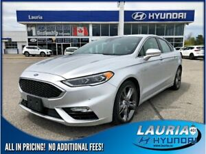 2017 Ford Fusion V6 Sport AWD - Loaded!