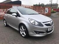 2009 (09) Vauxhall Corsa 1.6 i 16V SRi / 65K FSH / 12 Months MOT / 6 Months Warranty