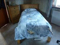 OAK FURNITURELAND SINGLE BED
