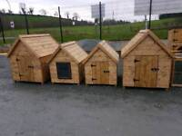 +++ Dog kennels & Hen arks pvc covered Galvanised dog pens runs great quaility wooden rabbit hutches