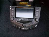 Honda Accord sat-nav radio