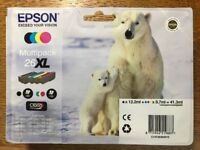 Epson Polar Bear 26XL Multipack, Black & Yellow cartridges for sale (unopened)