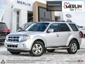 2011 Ford Escape Limited 3.0L PST PAID