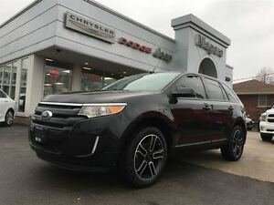 2014 Ford Edge SEL,ALLWHEELDRIVE,PANOROOF,ALLOYS,HEATED SEATS,