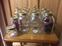 Kilner preserving/storage jars Bundle