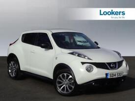 Nissan Juke N-TEC (white) 2014-03-31