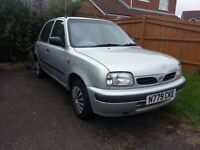 AUTOMATIC NISSAN MICRA REPAIR OR SPARES