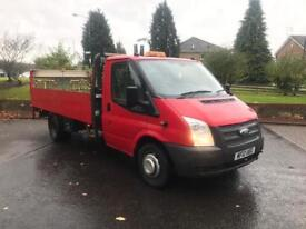 b67fe5e3ad 2012 Ford Transit Dropside With Tail Lift