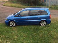Vauxhall zafira gsi/vxr bargain best colour arden blue