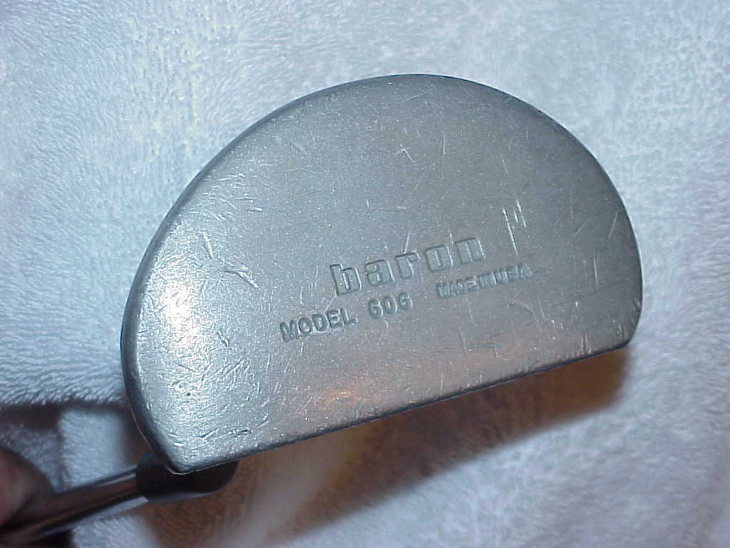 Vintage Baron Model 606 Mallet Putter Men Right Hand 34-1/2""