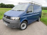 Volkswagen Transporter T32 140 BHP 2011 / 61 Lined ~ Bulkhead ~ TOWBAR ~ Roofrack ~ FULL MOT ~ BLUE.