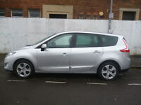 Renault GRAND SCENIC Dynamique 1.5 DCI Tom Tom,stunning looking 7 seat MPV,FSH,half leather interior