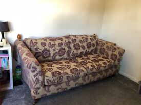 Scs sofa and cuddle chair