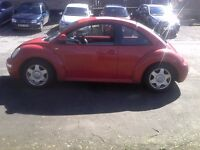 2001 Red Volkswagen Beetle 1.6SR