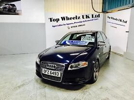 AUDI S4 QUATTRO AUTO, FULLY LOADED, 2005 PLATE, 12 MONTHS MOT & FULL SERVICE HISTORY, AMAZING CAR.