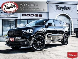 2017 Dodge Durango GT AWD V6 Blacktop Edition w/Navi, Sunroof, A