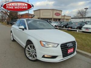 2015 Audi A3 LEATHER PANORAMIC ROOF