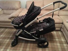 Phil and Teds Promenade double buggy pram single twin