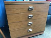 Chest of 4 drawers with FREE DELIVERY PLYMOUTH AREA