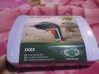 Bosch IXO New!!