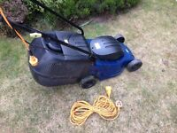 Small electric mower