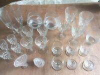 Glassware 26 Items!