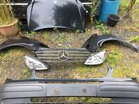 Mercedes Vito / viano complete front end panels 04 onwards