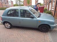 Nissan MICRA,2002, Grey Colour, Automatic, Slough (SOLD NOW)