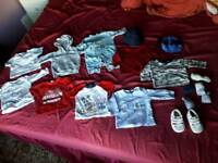 Baby boy bundle size 3-6 months + a free pack swimming pull up pants size 4