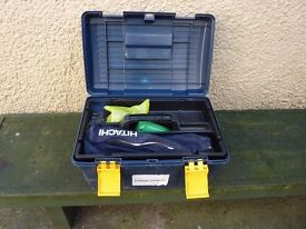 HITACHI PLANER P20SE KIT WITH DUST BAG EXCELLENT CONDITION AND BOXED