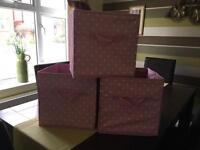 Girls Storage Cubes