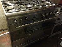 Smeg Range Gas cooker. Cheap