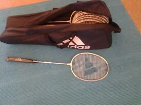 Badminton precision 8 light weight racket. Brand new