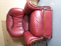 Electric, Reclining, Leather Armchair