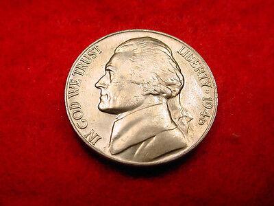 1946 JEFFERSON NICKEL GREAT GEM BU COIN!!   82