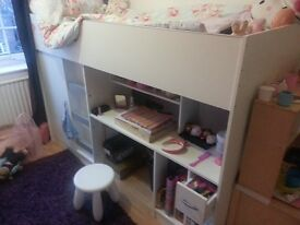 kids storage bed,wardrobe and-cupboard amazing buy ***
