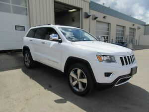2016 Jeep Grand Cherokee LIMITED 4X4 W/NAV, ROOF