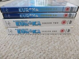 A Town Called Eureka Box sets - Series 1, 2, 3 and 3.5 included