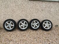 Mazda mx5 alloys + reflector set