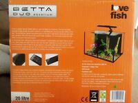 Aquarium Betta duo 20 l