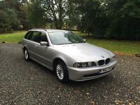 2002 BMW 525d touring estate manual diesel - down on power
